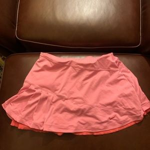 Nike tennis skirt size small drifit